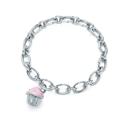 "On a 7.5"" link clasp bracelet. Links open and close. Charm and bracelet"