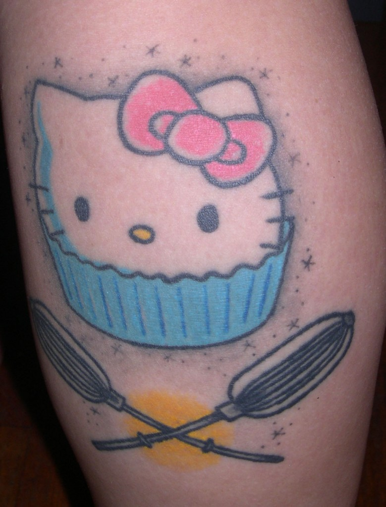 Hello+kitty+tattoos+on+hip