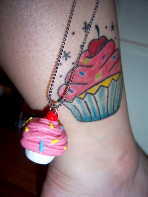 I love cupcake tattoos photo 1508191-4