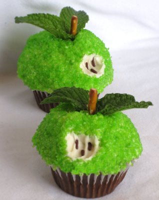 apple cupcake