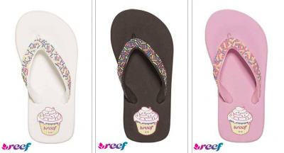 Reef Shoes Women on Reef Girls Little Cupcake Flip Flops All Things
