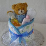 diaper cupcake bear