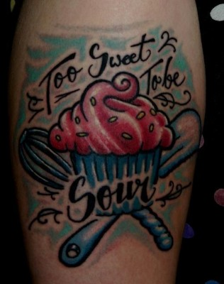 Sweet Tattoos on Sweet Tattoos For September   All Things Cupcake