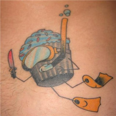 Recently, two of our faithful ATC readers sent in pictures of their tattoos,