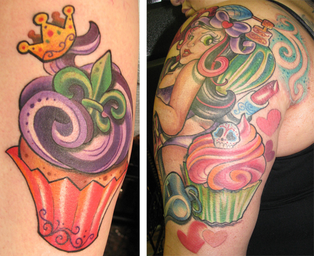 mardi gra tattoos