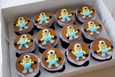 Minions Cupcakes 3.