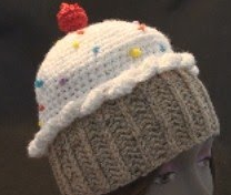 Knit A Cupcake Hat - Pattern For All Sizes - YouTube
