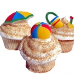 Beach Cupcakes from Zen Cupcake
